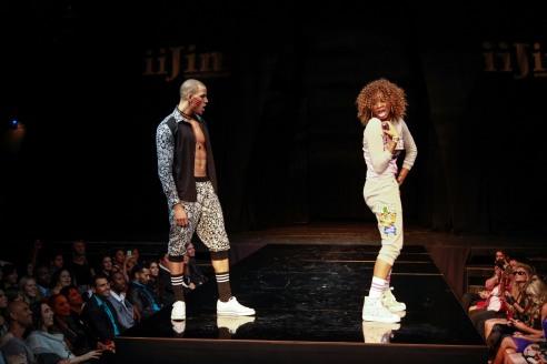 An epic dance battle begins between models Jared & Monique  - Igor Spektor Photographry