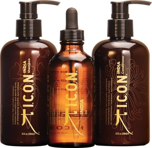 I.C.O.N. INDIA Hair Care Line (photo: courtesy of Jade Umbrella PR)