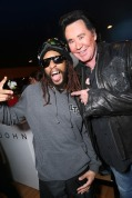 Lil' Jon, left, and Wayne Newton attend Talent Resources suites, on Friday, Jan. 17, 2014, in Park City, Utah. (Photo Credit: Alexandra Wyman/Invision for Talent Resources/AP Images)