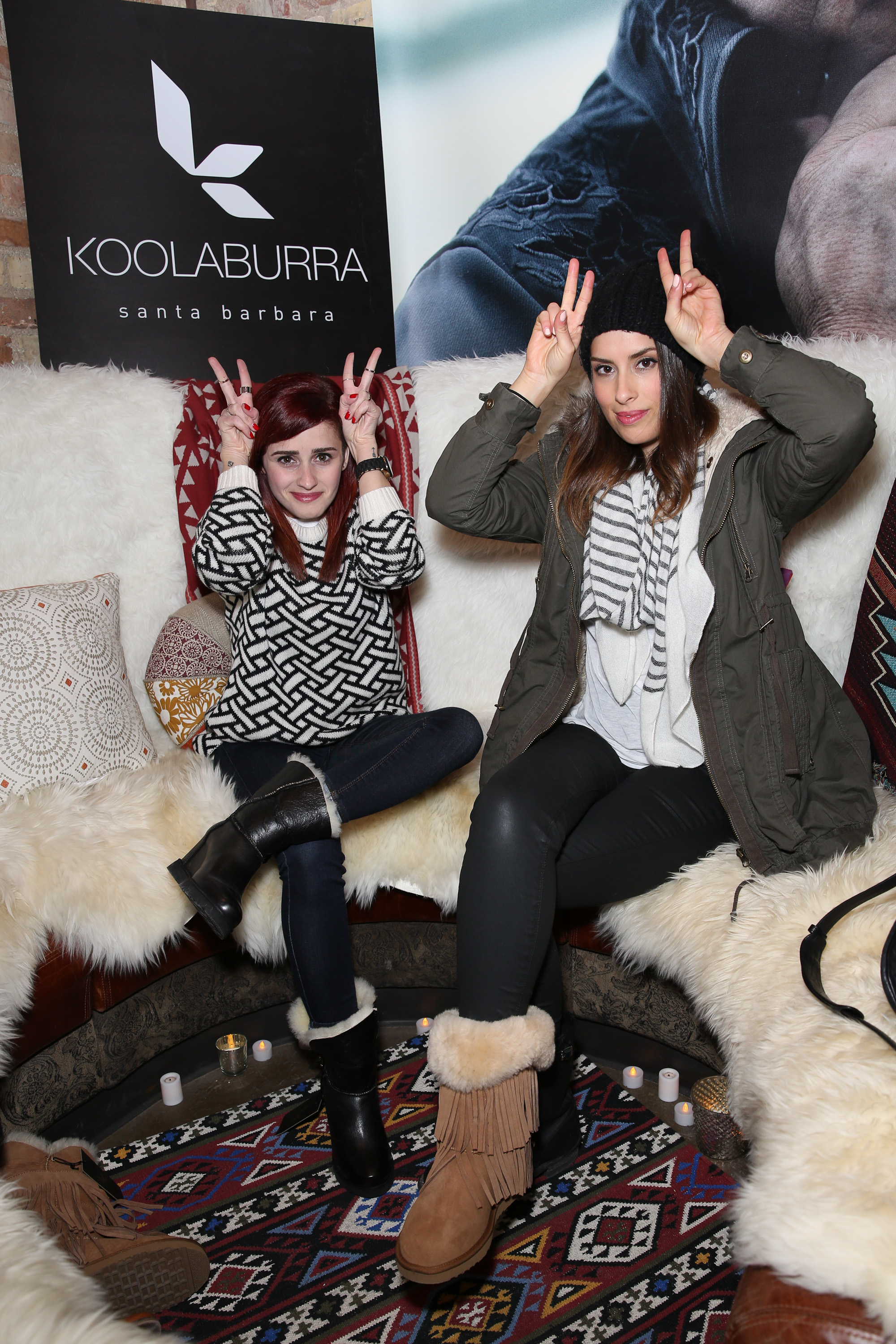 koolaburra shows off their boots at sundance lalascoop