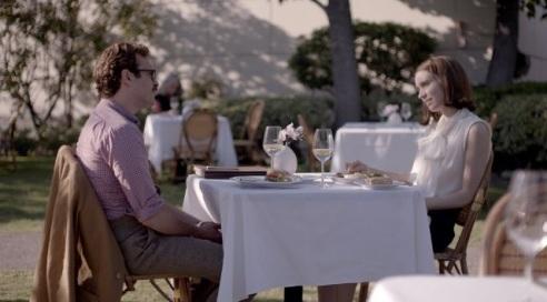 Joaquin Phoenix as Theodore and Rooney Mara as Catherine in her (photo: courtesy of IMBD, Rick Howard Company LLC)