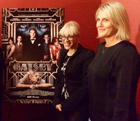 The Great Gatsby's Oscar Nominated Production Designer, Catherine Martin, and Set Decorator, Beverley Dunn, at the Egyptian Theature for The Art of Production Design panel with Art Directors Guild (photo credit: Melissa Curtin)