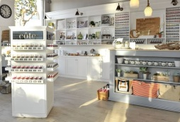 côte flagship eco nail salon and specialty shop in Brentwood (photo credit: Donato Sardella/Getty Images for côte)