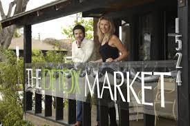 The Detox Market co-founders, Romain Gaillard and Valerie Grandury (photo: couresy of www.thedetoxmarket.com)