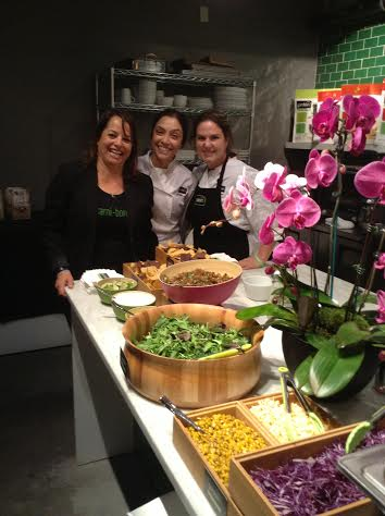 The fabulous Gardein chefs at their Tasting Kitchen for My Gentle Farm's book launch (photo credit: Rochelle Robinson)