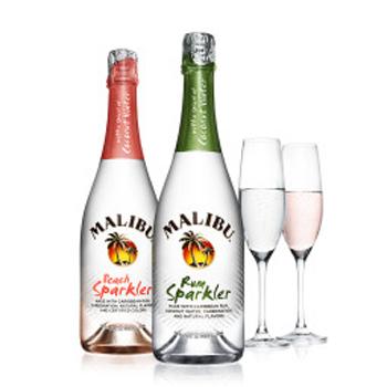 Malibu-Rum-Sparkler