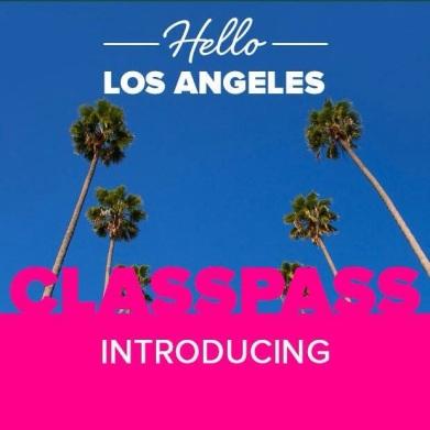 Welcome to LA, ClassPass! (photo: courtesy of ClassPass)