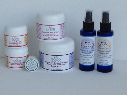 My absolute favorite Good Body Products (photo credit: Rochelle Robinson)