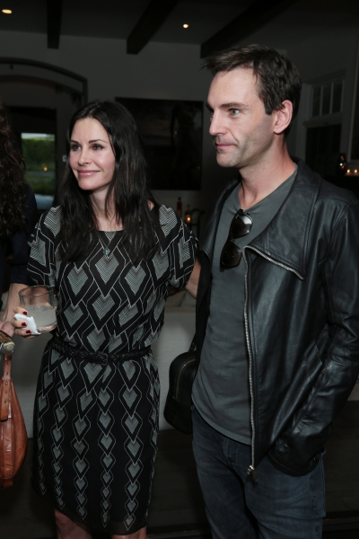 "Courtney Cox and John McDaid attend the Kevin Morris: ""White Man's Problems"" Book Party held in Los Angeles, CA on Tuesday, June 3, 2014. (Alex J. Berliner/ABImages)"