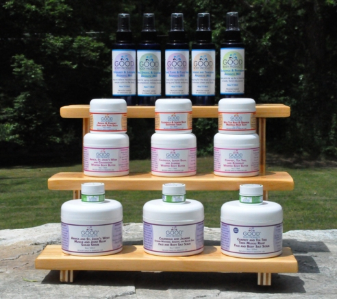 Sensational line of GoodBody Products shot in Vermont (photo: courtesy of GoodBody Products)