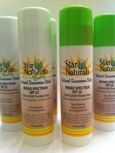 Star Naturals handy SPF stick (photo: courtesy of Star Naturals)