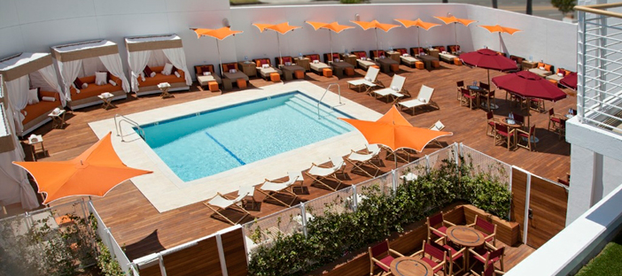 Mr c beverly hills steps up the fun with summer escapes - Beverly hills public swimming pool ...