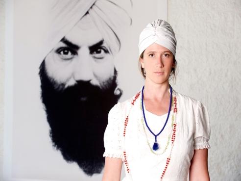 Guru Jagat at RA MA Institute (photo: courtesty of RA MA Insitute)