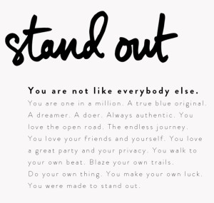 Lucky Brand #StandOut Campaign (photo: courtesy of Lucky Brand)