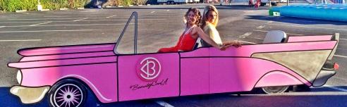 LaLa Ladies, Rochelle Robinson and Melissa Curtin at BeautyCon LA 2014