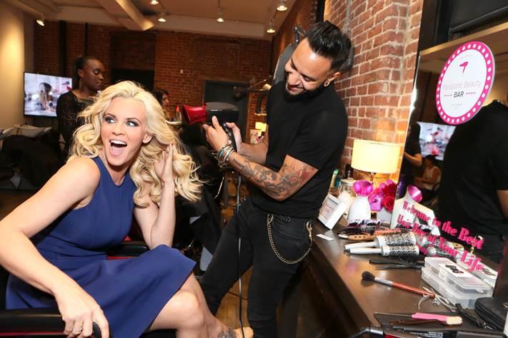 LA Celebs Get Even Hotter At The Panasonic Beauty Bar At
