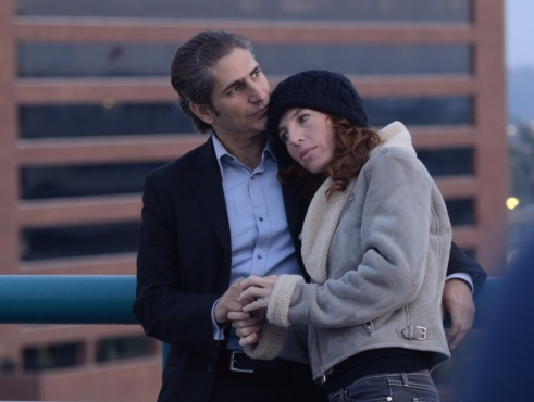 Tanna Frederick and Michael Imperioli in The M Word (photo: courtesy of The Rainbow Films)
