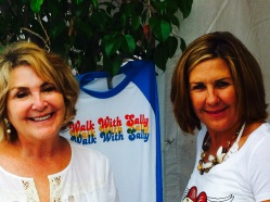 Lovely Walk With Sally volunteers at 8th Annual White Light White Night event (photo credit: Rochelle Robinson)