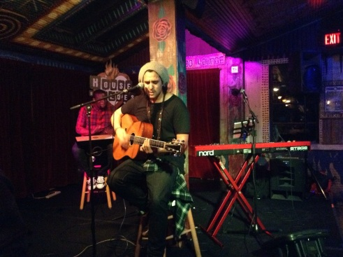 Eric Zayne playing in the Voodoo Lounge at The House of Blues on Sunset Boulevard (photo credit: Sydney Ramone Stokes)