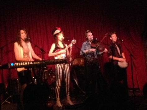 SHEL playing at intimate setting of Hotel Cafe (photo credit: Rochelle Robinson)