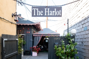 The Harlot Salon entrance