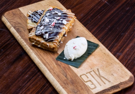 Delicious STK PopTRT, created by STK Executive Pastry Chef Abbie White (photo: courtesy of The ONE Group)