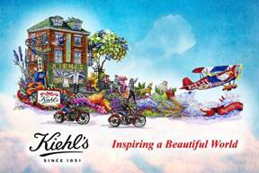 "Kiehl's Rose Parade Float, ""Inspiring a Beautiful World"" ~ January 1, 2015"