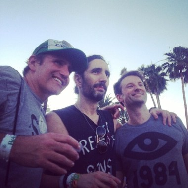 Jonathan Fuhrman (left), and avid concert goer at Coachella, an annual music fest where Angelenos flock.