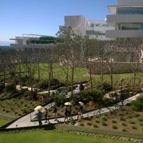J. Paul Getty Museum in LA (Photo credit: Lisa Niver)