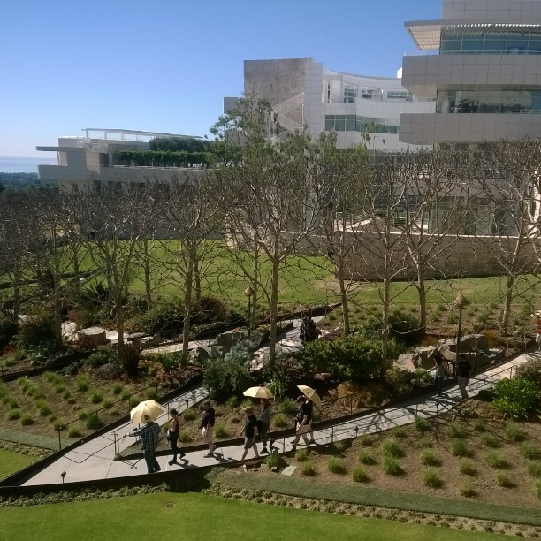 J. Paul Getty Museum in LA (Photo credit: Lisa Niver)