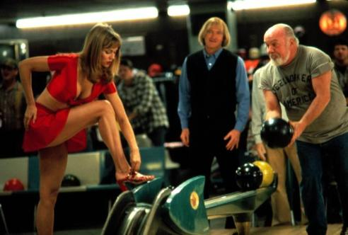 Vanessa Angel is the Farrelly brothers film, Kingpin, a 1996 American comedy hit.