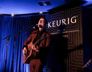 Music recording artist Jarle Bernhoft performs the Keurig Grammy's afterparty at Continental Club, (Photo by Chris Weeks/Getty Images for Keurig)