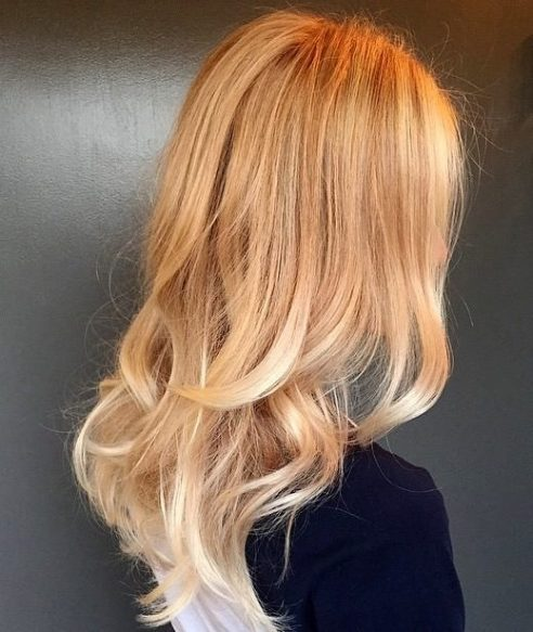 Dimensional blond. Color by Meaghan Jones at Jonathan and George in Beverly Hills.