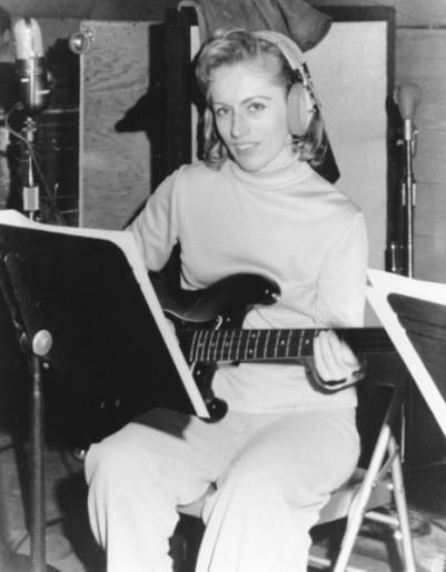 Carol Kaye, the only female member of studios musicians deemed The Wrecking Crew. (Photo credit: www.therapadian.org)