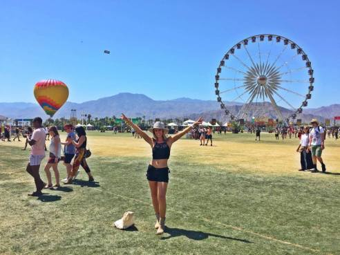 Made it! Coachella 2015 (Photo credit: Melissa Curtin)