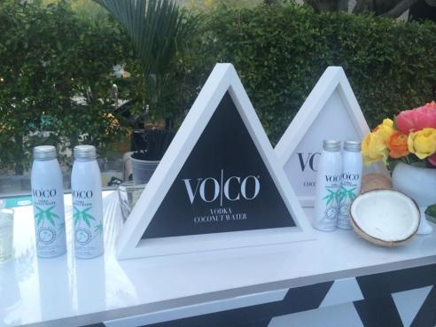 One of the many awesome sponsors at the POPSUGAR weekend party. Supermodel Allesandra Ambrosio is the spokesperson of VOCO. (Photo credit: Melissa Curtin)