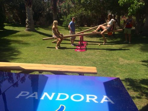 Pandora Indio Invasion party was like an adult playground (Photo credit: Melissa Curtin)