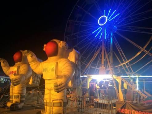 Neon Carnival. Coachella 2015 (Photo credit: Melissa Curtin)