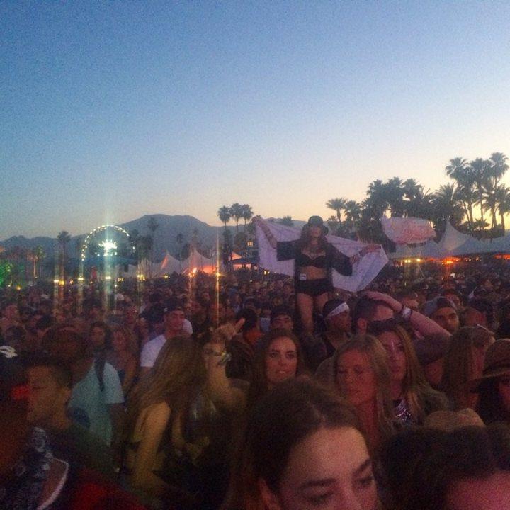 Coachella vibes. Kaskade - ing (Photo credit: Melissa Curtin)