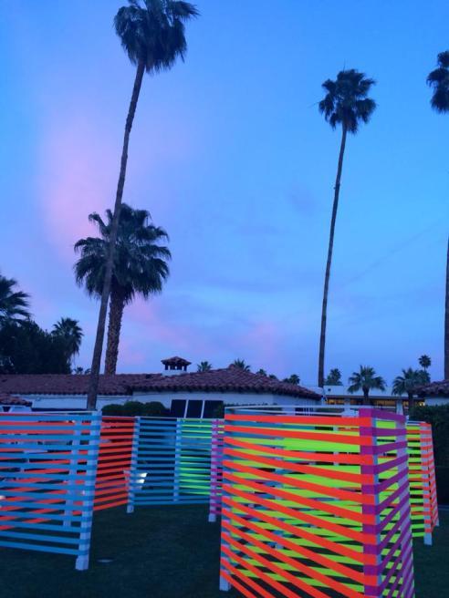 Popsugar bash at the Viceroy Hotel Palm Springs. (Photo credit: Melissa Curtin)