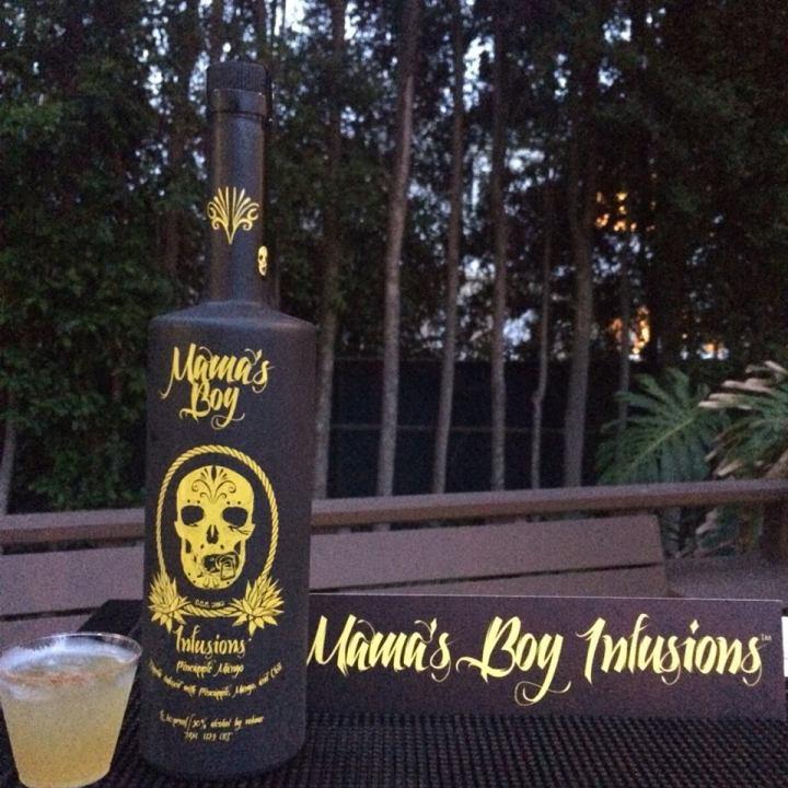 Mama's Boy tequila Palomama