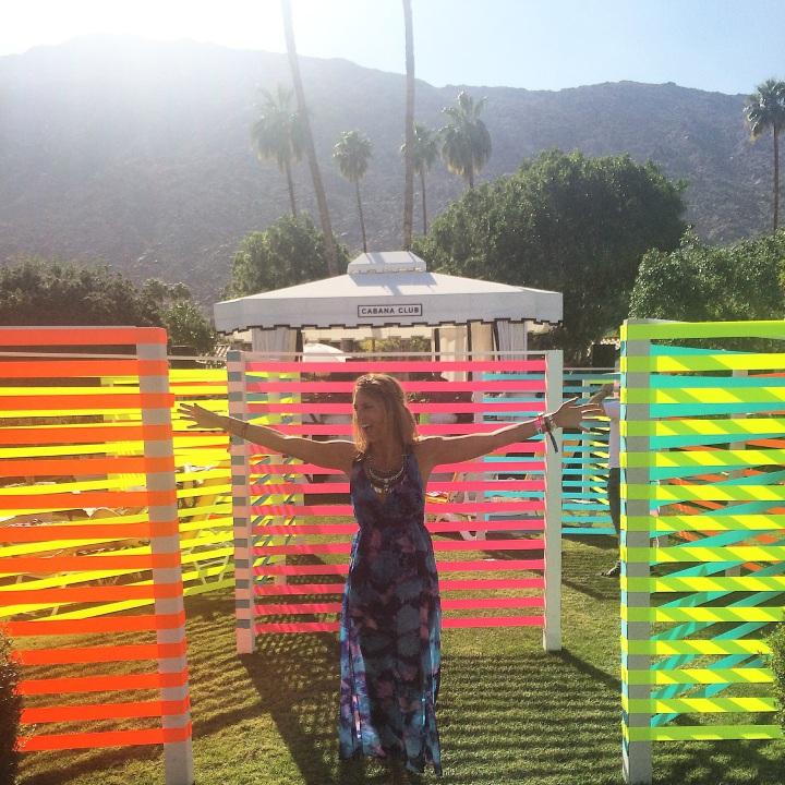 Popsugar Bash at the Viceroy Hotel. Coachella.