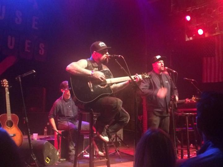 The Madden Brothers at the House of Blues for ImagineLA Ball. (Photo credit: Melissa Curtin)