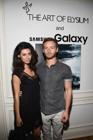 LOS ANGELES, CA - JUNE 18:  Actors Yolanda Pecoraro and Chris Masterson attend an introduction to HEAVEN 2016 presented by The Art of Elysium and Samsung Galaxy on June 18, 2015 in Los Angeles, California.  (Photo by Michael Buckner/Getty Images for Samsung)