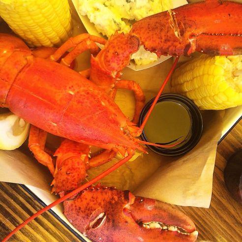 The Albright Santa Monica pier lobster