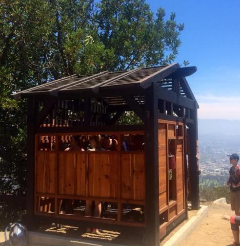 Griffith Park Teahouse. Los Angeles