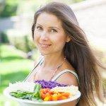Lena of Pure Vegan Food Instagram handle (photo: courtesy of www.instagram.com/pureveganfood)