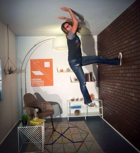 Skylight Studio's Interactive Gravity Room