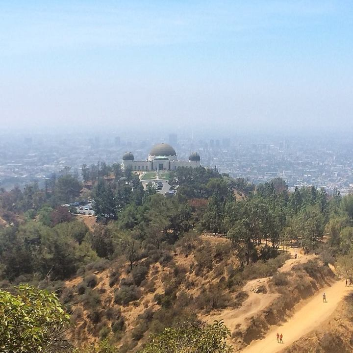 Griffith Park Observatory. In search of the teahouse.