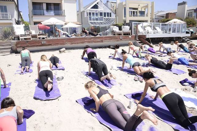 Kia Malibu Beach House with #PrivIt and #ToneitUp. (Photo credit: Alexandra Wyman Photography)